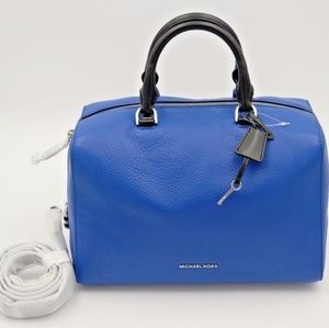 Micheal Kors Large Blue Satchel